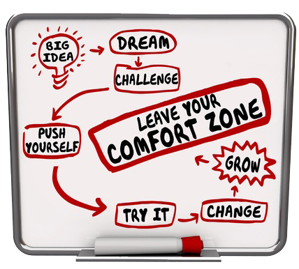 """To grow your business in a meaningful way, you'll have to get out of your comfort zone."""" says Business Coach Dianne Dawson."""
